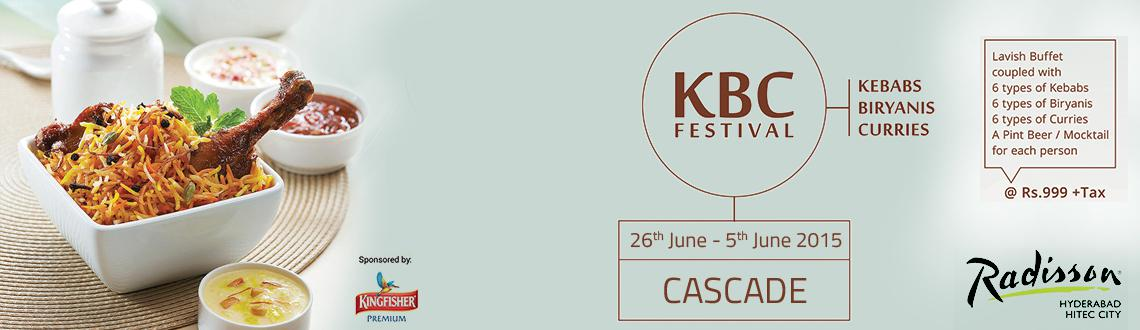 KBC Festival (Kebabs, Biryanis and Curries Festival)