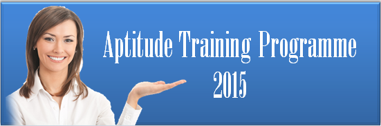 Aptitude Training Programme 2015
