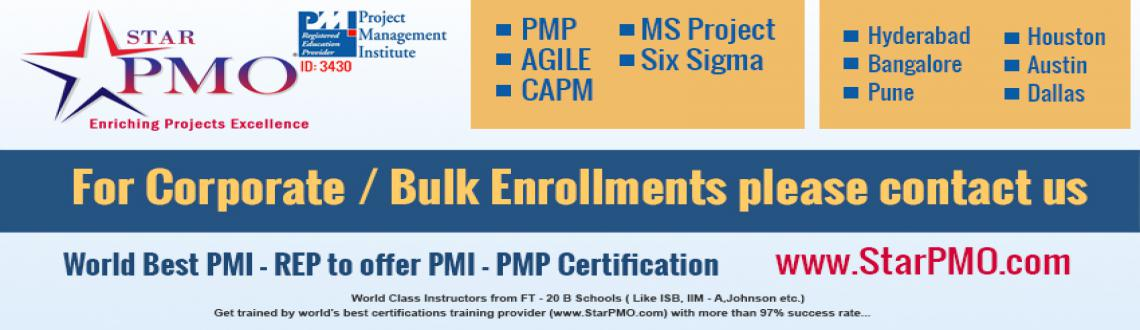 PMP Certification Program in Hyderabad Batches Starts From 20th July 2015 @StarPMO