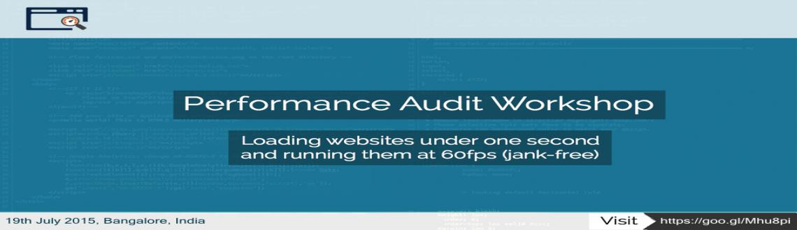 Performance Audit Workshop Bangalore 2015