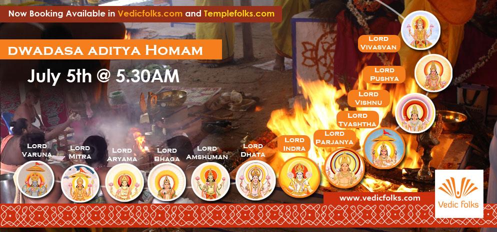 Live Dwadasa Aditya Maha Homam