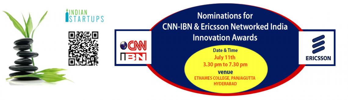 Business Plan Pitch And Nominations for CNN-IBN  Ericson Innovation Award