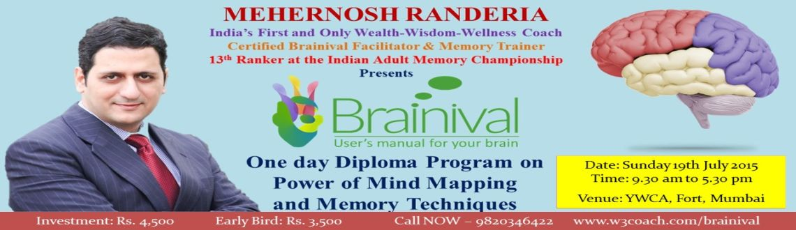 Brainival Course on Power of Mind Mapping and Memory Techniques