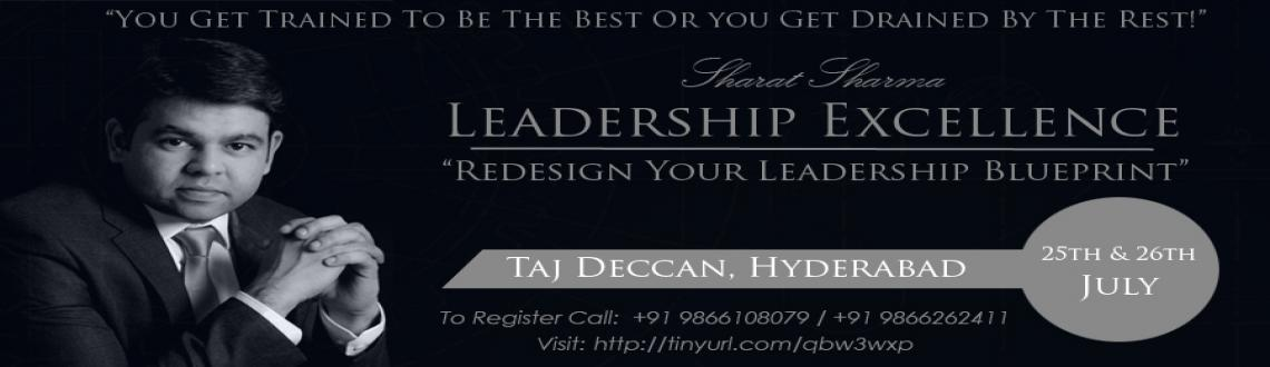 Book Online Tickets for Leadership Excellence Workshop Hyderabad, Hyderabad. Are You Struggling to discover your own uniqueness As A Leader?Are You Struggling to establish your Leadership Identity?Unable to strike chord with your team and/or with people around?Would You Like To Influence The World Around You &Be An Extrao