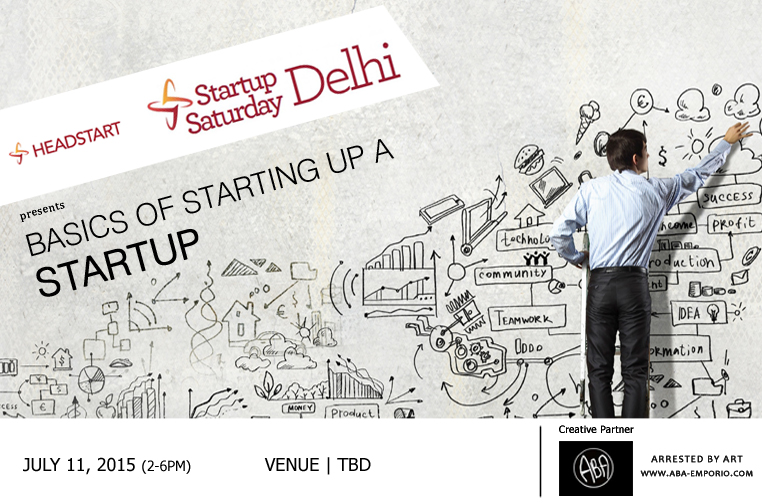 Book Online Tickets for Headstart Startup Saturday Delhi July 20, NewDelhi. Startup Saturday is one of the biggest startup events to take place every month. Every edition of Startup Saturday explores various topics that help a Entrepreneur startup and be successful.