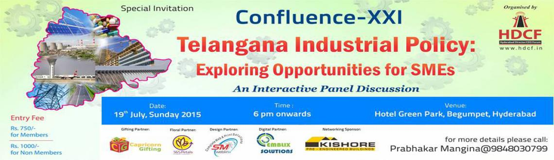 Telangana Industrial Policy:  Exploring Opportunities for SMEs