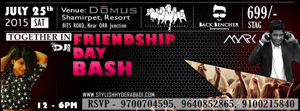 Friendship Day Bash