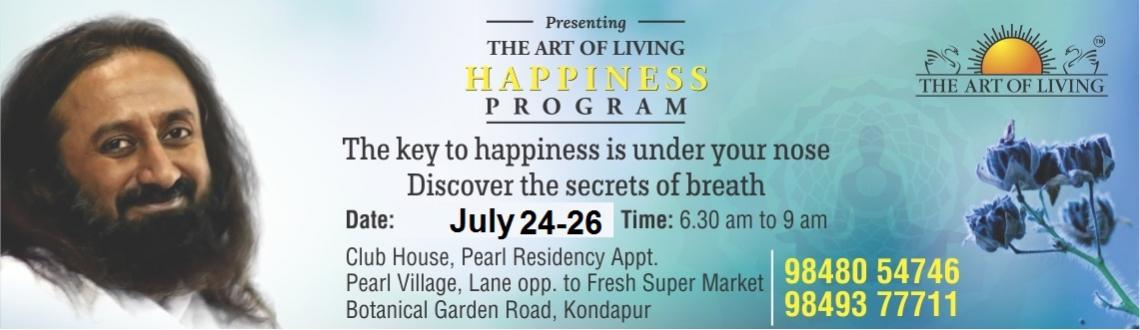 Art Of Living Happiness Program
