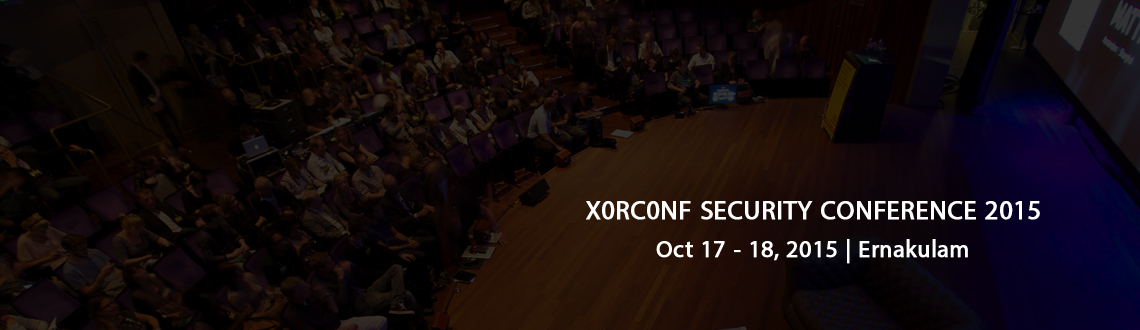 X0RC0NF SECURITY CONFERENCE 2015