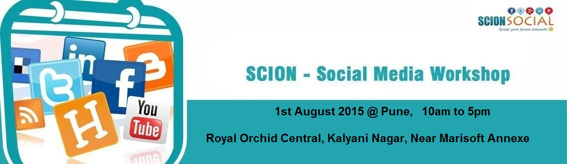 Social Media Workshop PUNE - 1st August 2015