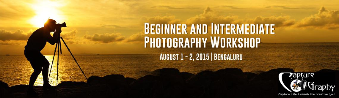 Beginner and Intermediate Photography Workshop