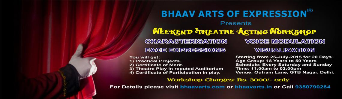 Weekend Theatre Acting Workshop