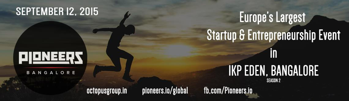 Book Online Tickets for PioneersBangalore, Bengaluru. Global Pioneers is the place where entrepreneurs find meaningful connections that lead to partnerships in order to grow projects in a faster and sustainable way. People helping people to support business growth.