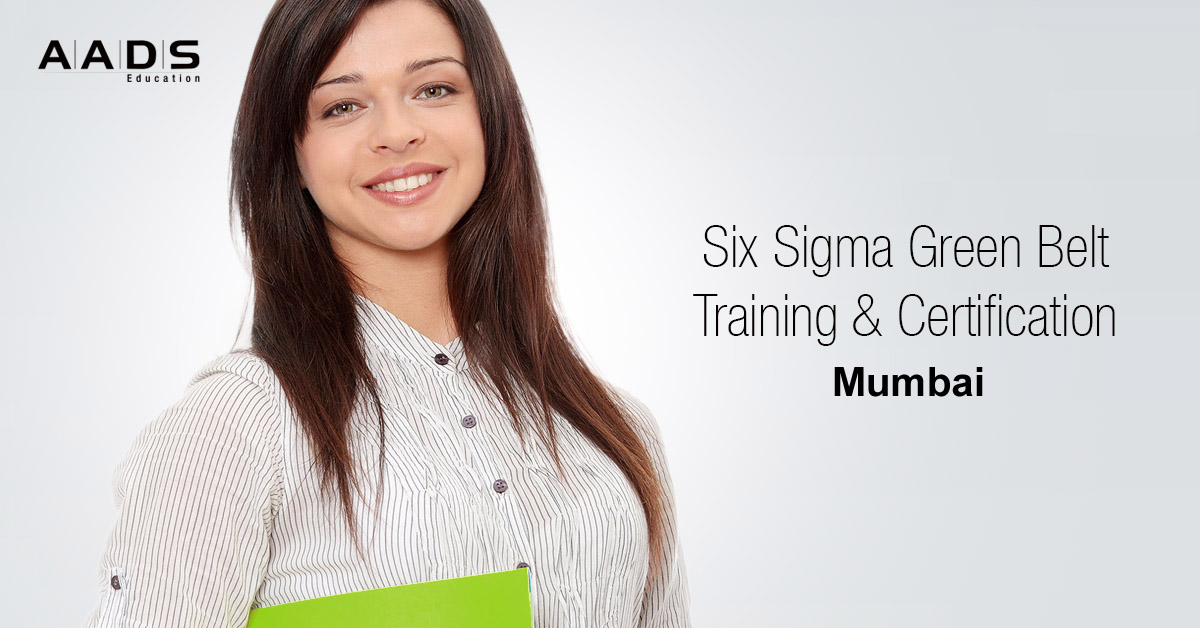 six sigma Green belt Training and Certification Program for Quality Managers in Mumbai.
