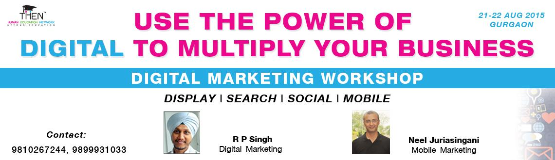 Digital Marketing Workshop - 2015