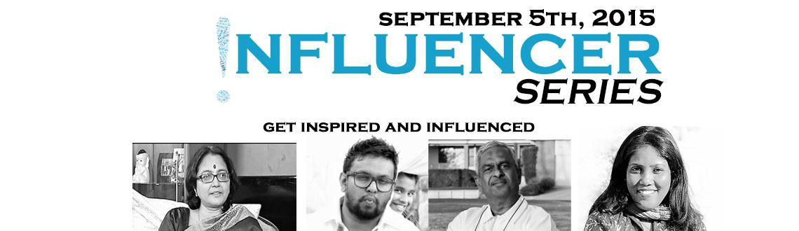 Book Online Tickets for Influencer Series, Hyderabad. We all think we are normal human beings who cannot accept change or create change. But, that is so untrue and far from reality. There is a hero in all of us. INFLUCENCER SERIES aims to identify these unsung heroes in the recesses of society and bring