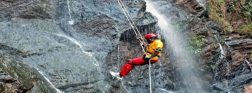WATERFALL RAPPELLING - The Adrenaline Rush