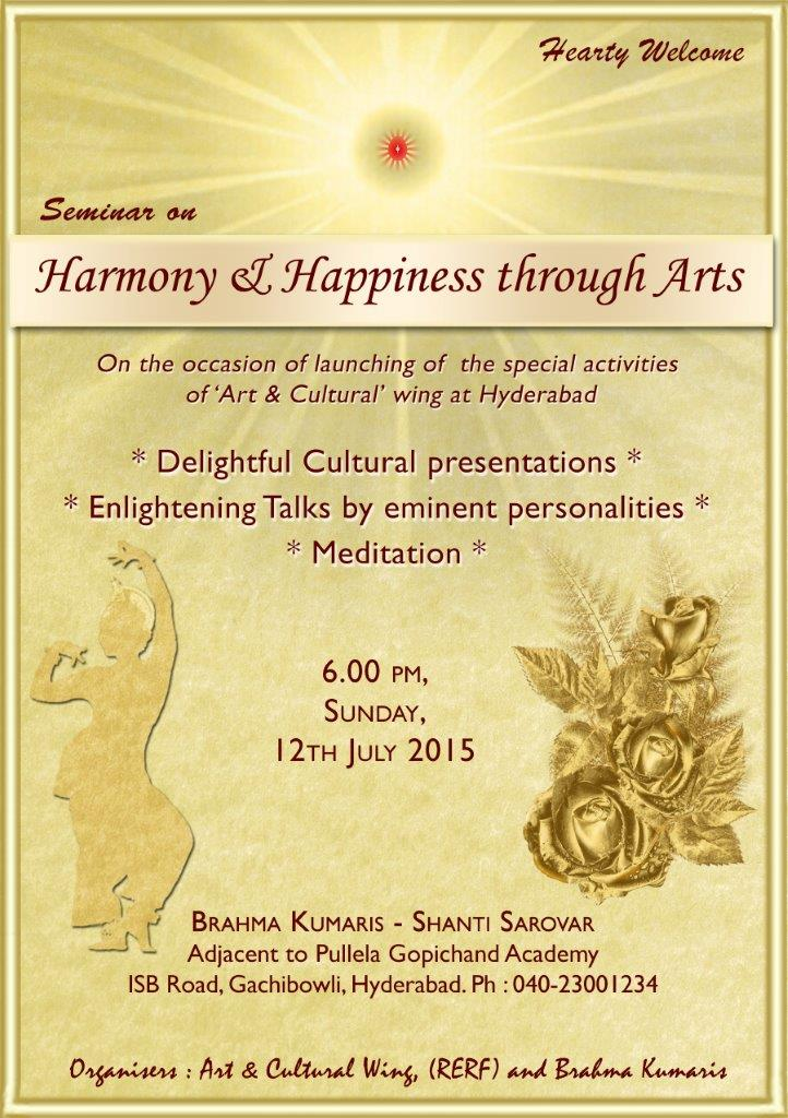 Harmony  Happiness through Arts