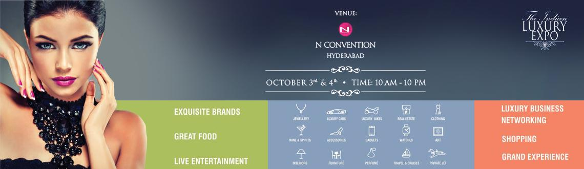 The Indian Luxury Expo @ Hyderabad