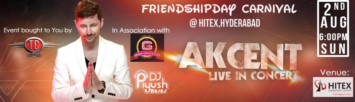 AKCENT Live in Concert on Friendship Day 2015 at Hitex