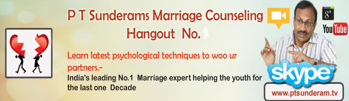 Googleplus hangout on Couples needs for happy married life