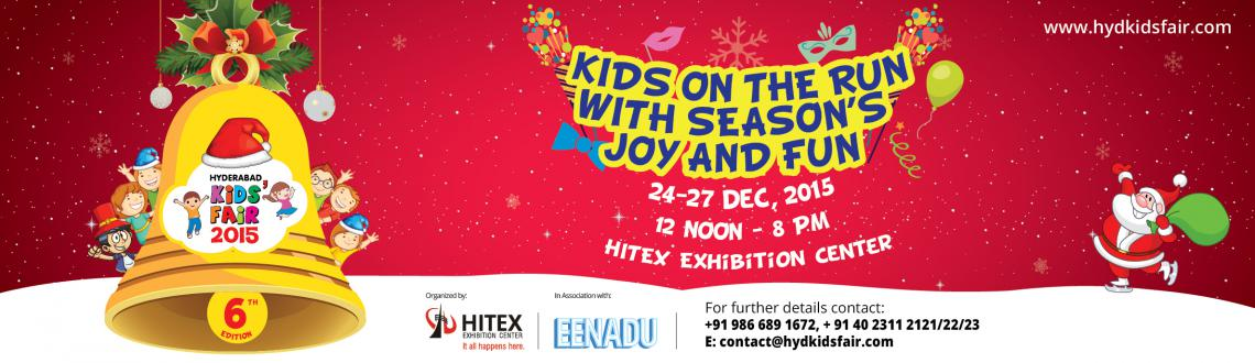 Book online tickets for Hyderabad kids fair 2015 and experience endless excitement during this winter. Visit MeraEvents Now.