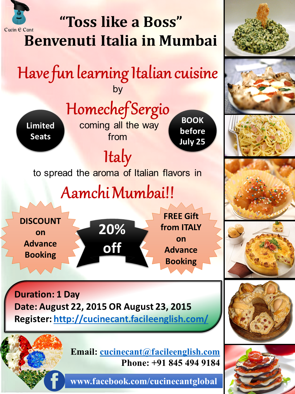 Learn Italian Cooking with an ITALIAN CHEF