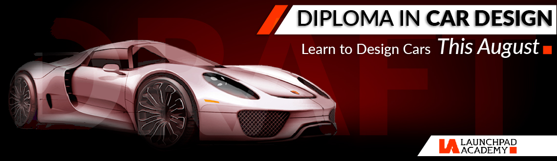 Book Online Tickets for Diploma in Car Design (August 2015)    , .  Diploma in CAR DESIGN offered by Launchpad Academy, is a2.5 MonthInstructor-led, Intensive, Online Course.    DOWNLOAD COURSE PROSPECTUS FROM HERE -DOWNLOAD Course Fee: Rs. 9999/-(Call