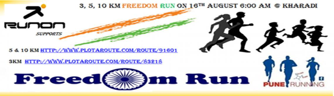 Book Online Tickets for Freedom Run - Kharadi - Aug 16, 2015, Pune. You too can run .. and so can all members of your family including kids and grandparents ... We are back to nurture your addiction to running you got at June 28th LSOM .. Come with family ... Water support will be there ....Come and Do join us for \\