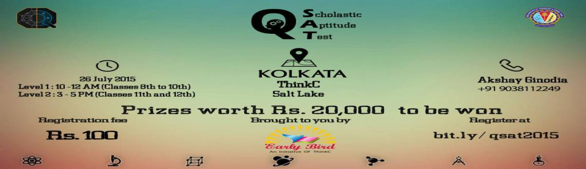 Book Online Tickets for qSAT Kolkata, Kolkata. Quark techfest of BITS Pilani Goa brings you Quark Scholastic Aptitude Test: qSAT 2015. For school students of standard VIII to XII, we bring you an innovative set of questions, get ready to test your intellectual skills and apply