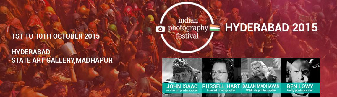 Book Online Tickets for Indian Photography Festival - Hyderabad, Hyderabad. The Indian Photography Festival (IPF) - Hyderabad, an initiative of the Light Craft Foundation, is an international photography festival showcasing a wide range of photography across all genres from portraits and landscape through photojournalism to