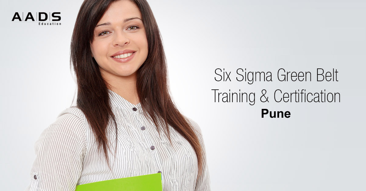 six sigma green belt training and certification program for production Managers in Pune.