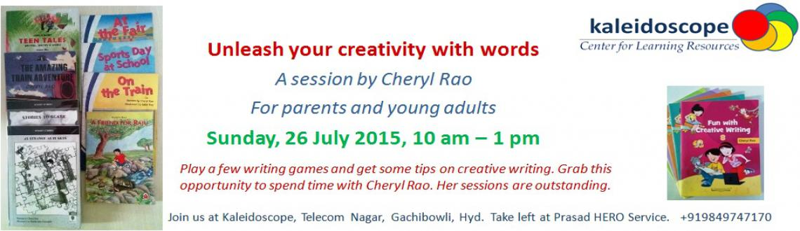 Book Online Tickets for Unleash your creativity with words, Hyderabad.