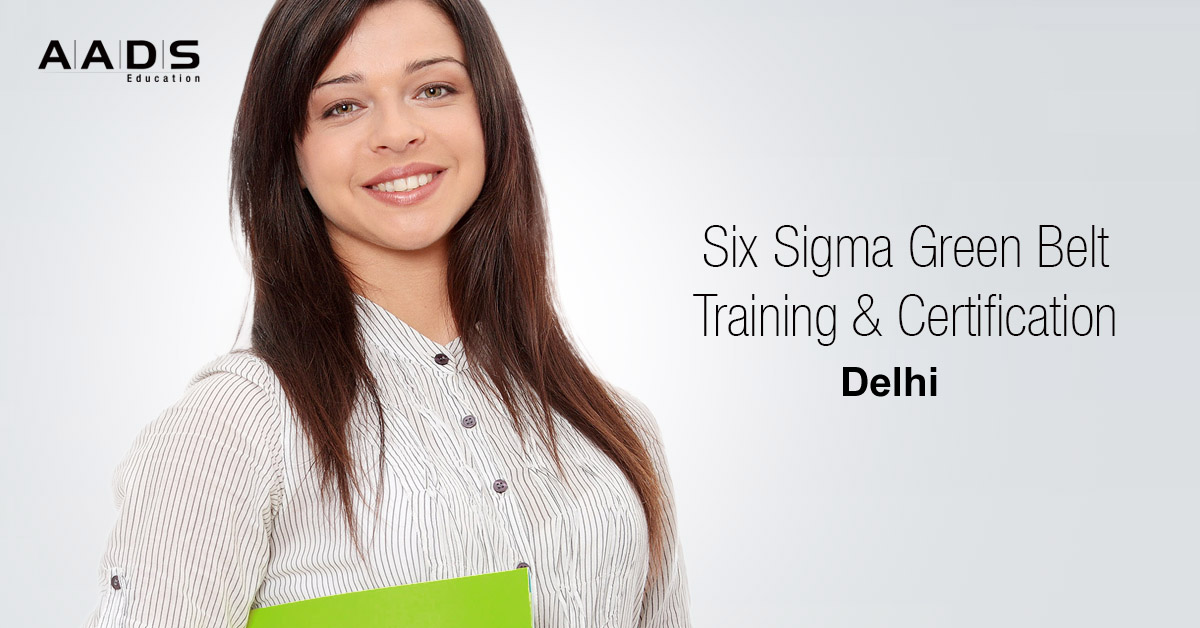 Six Sigma Green belt Training for Quality Controllers in Delhi.
