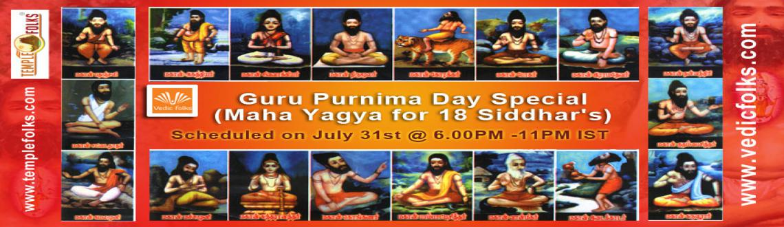 Book Online Tickets for Guru Purnima Day Special Ritual, Chennai. Guru Purnima Day Special - Maha Yagya for 18 Siddhar\\'s 