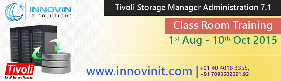 Book Online Tickets for IBM Tivoli Storage Manager 7.1 Implement, Hyderabad. Are you looking to get a job in Big MNC