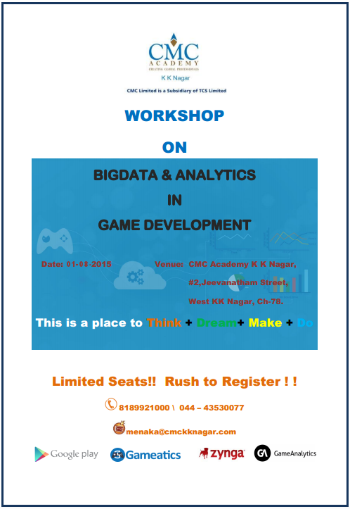 Bigdata analytics in game devlopment