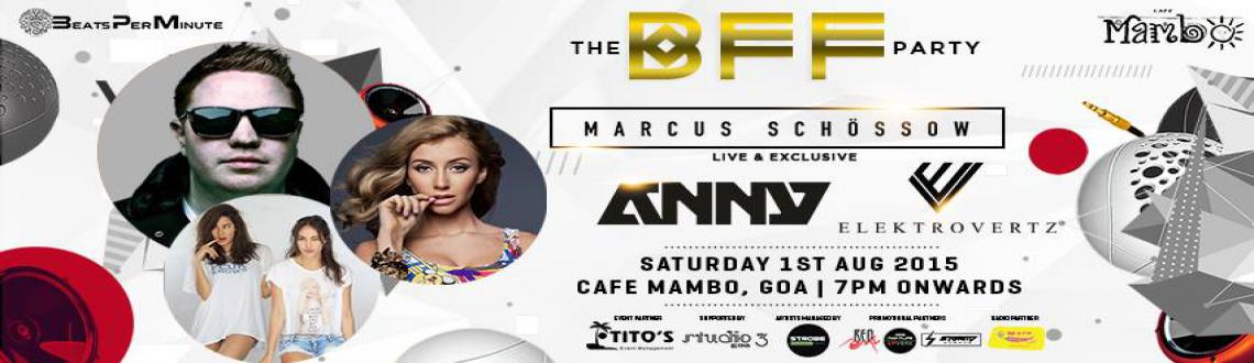 B.F.F Party @ Cafe Mambo