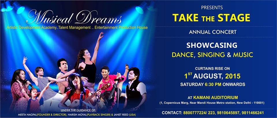Take The Stage-2015 , Annual Concert by Musical Dreams