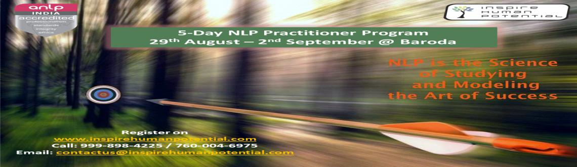 NLP Practitioner Program @ Baroda/Vadodara