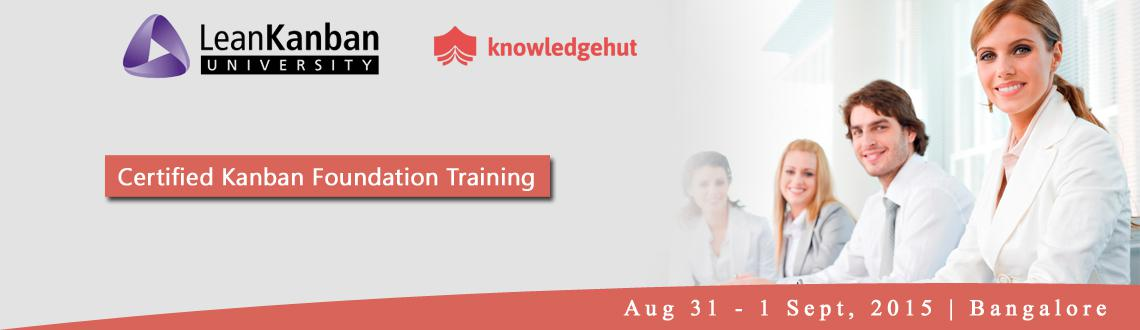 Certified Lean Kanban Foundation Training in Bangalore