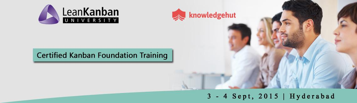 Certified Lean Kanban Foundation Training in Hyderabad
