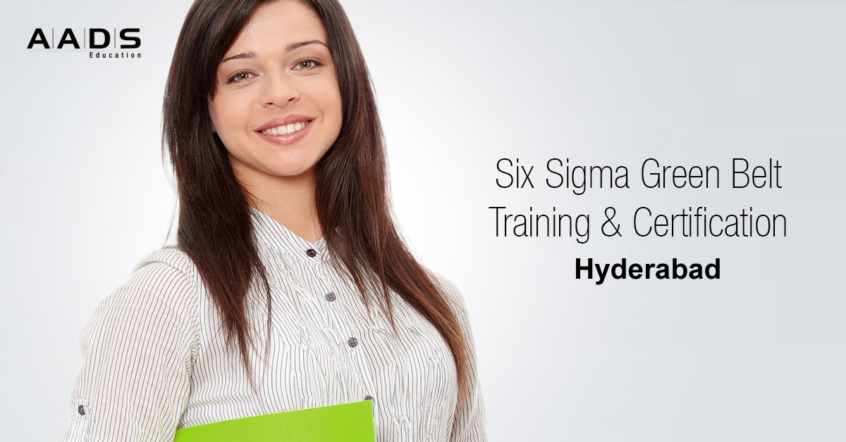 Six Sigma Green Belt Training for process Analyst in Hyderabad.