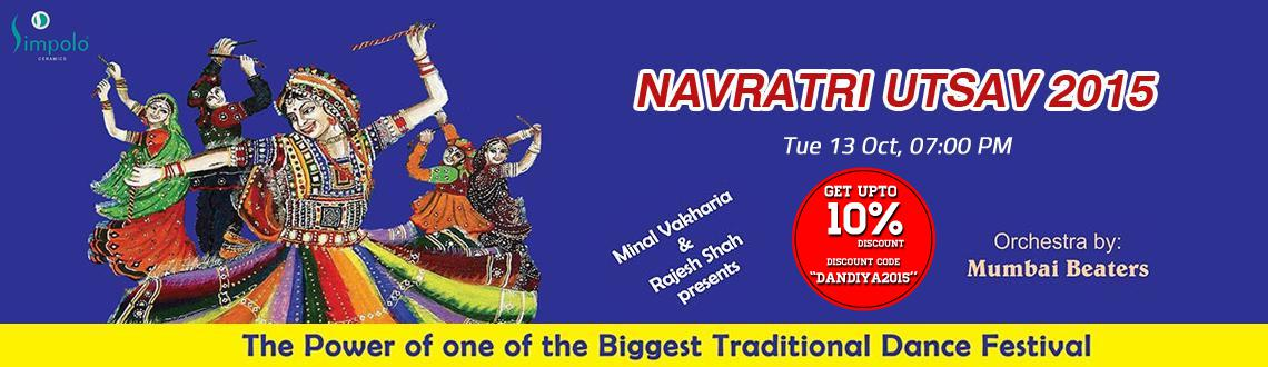 Book Online Tickets for Simpolo Navratri Utsav 2015 at KJR Garde, Hyderabad. Simpolo Navratri Utsav 2015: