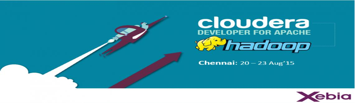 Book Online Tickets for Cloudera Developer Training l 20-23 Aug2, Chennai. Cloudera's 4-day training program gives Hadoop developers the expertise to harness the full power of the open source technology and bring their organizations\\\' data to life . Xebia is an official training partner of Cloudera, the leader in Ap