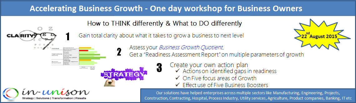 Book Online Tickets for Accelerating Business Growth, Pune. About Program:
