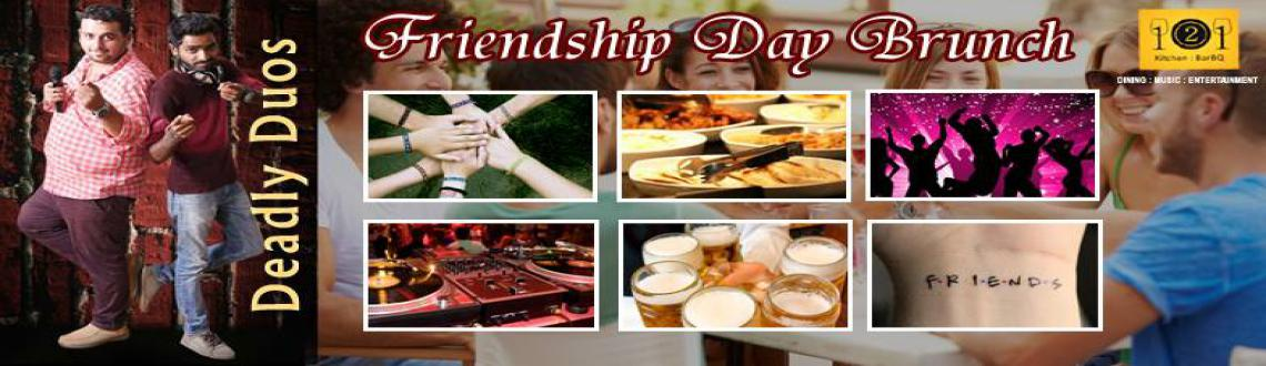 Special Friendship Day Brunch @ 121 Kitchen : BarBQ