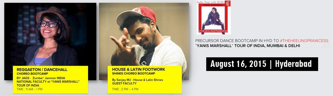 PRECURSOR DANCE BOOTCAMP by JAGS  SANJAY MJ for YANIS MARSHALL TOUR OF INDIA