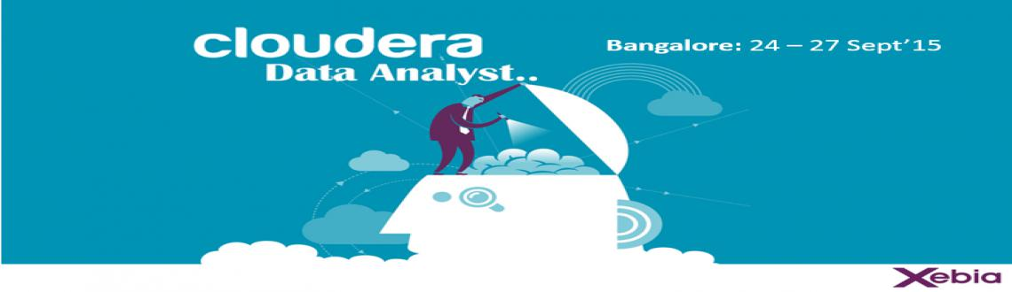 Cloudera Data Analyst Training l Bangalore | 24 - 27 Sep 2015