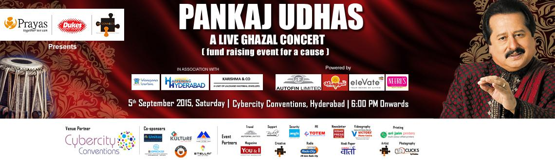 Pankaj Udhas Gazal Night @ Hyderabad